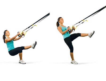 Best TRX exercise - Single Leg Squat to Row
