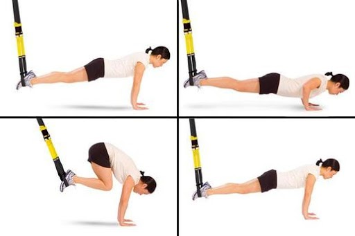 Best TRX Exercise - Atomic Push Up - Advanced Level