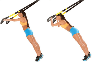 Best TRX exercise - Tricep Extension